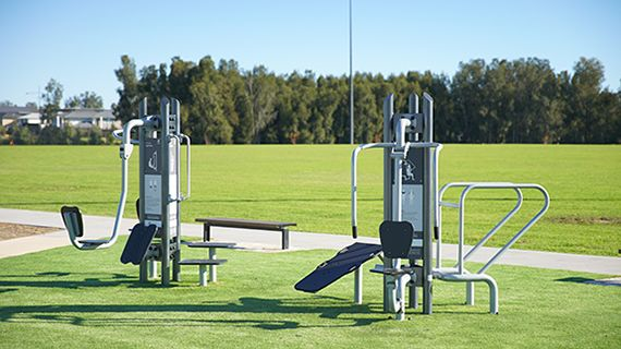 Set your 'Springtime' fitness now at Catherine Park Oval